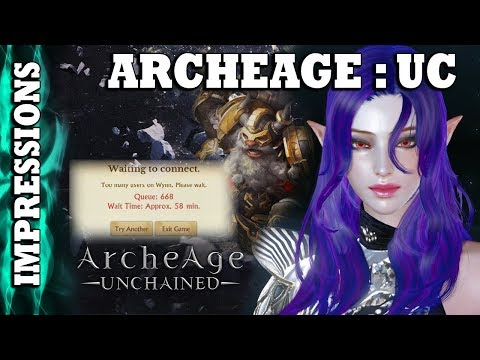 ArcheAge : Unchained - First Impressions - Queue Age
