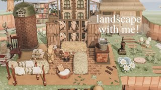 Relax And Landscape With Me! (medieval Village Theme)
