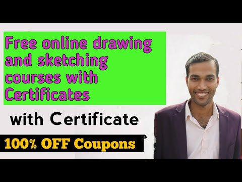 Free Online  drawing and sketching courses with certificates | Free courses for designer