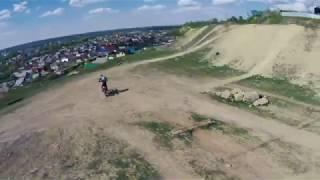 Полет 9 мая. FPV Drone&Cross enduro