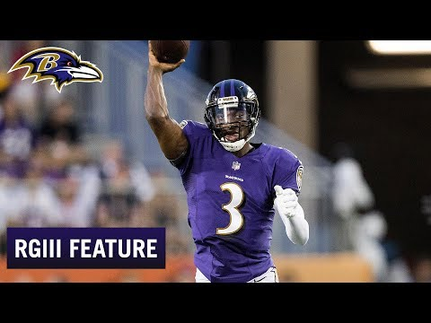 d184cacb Robert Griffin III Talks His NFL Journey | Baltimore Ravens