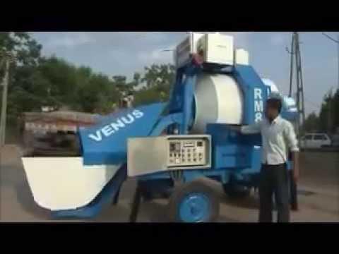 Reversible Concrete Mixers