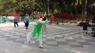 20180330  Singing  小宜  民族舞  東北秧歌舞