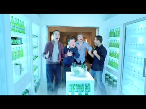 Heineken - der begehbare Kühlschrank