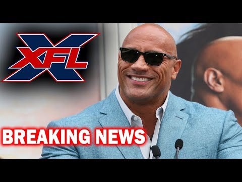 THE ROCK Buys the XFL ! ( BREAKING NEWS ) Sports