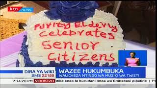 Wakongwe wa Nyeri wakata rhumba na densi kwa sherehe