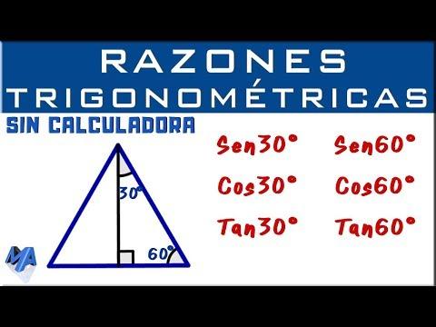 Razones Trigonometricas De Los Angulos De 30 45 Y 60 Grado Tomi Digital