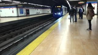 preview picture of video 'Metroeste linea  7  Estacion de Coslada Central 2015 Coslada'