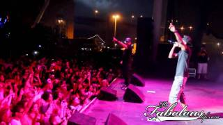 "Fabolous, Wiz Khalifa & DJ Drama Perform ""Oh My"""