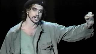 RAUL ESPARZA in EVITA '99 Opening
