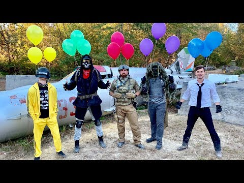 Airsoft Battle Royale | Dude Perfect