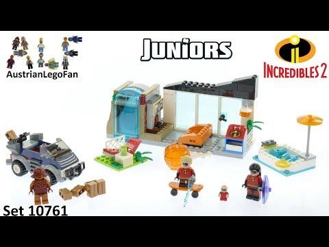 Vidéo LEGO Juniors 10761 : Les Indestructibles 2: La grande évasion