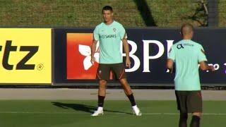 Portugal Train Ahead Of Their International Friendly Match Against Spain