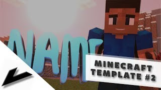 FREE MINECRAFT TEMPLATE #2 - Now Available   by Vace