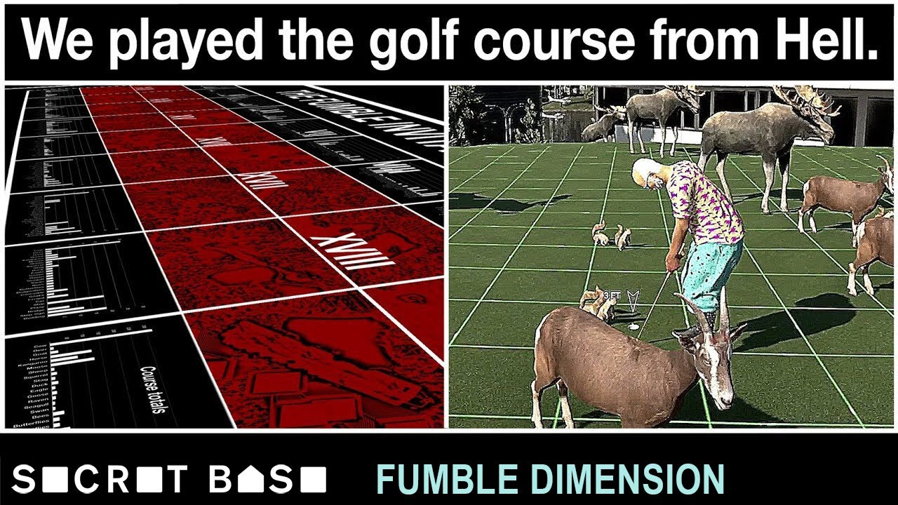 We built and played the worst golf course ever and it was all your fault | Fumble Dimension Ep. 4 thumbnail