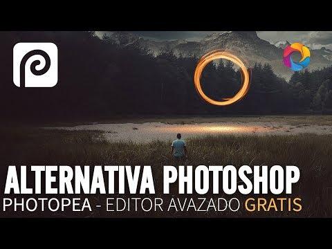 Photopea - Alternativa online gratis al Photoshop (PSD Box España)