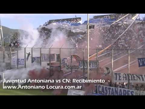 """""""Hinchada Juventud Antoniana vs CN Recibimiento"""" Barra: La Inigualable Nº1 del Norte • Club: Juventud Antoniana"""