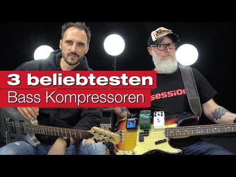 Die 3 beliebtesten Bass Kompressoren unter 200 Euro!