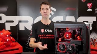 MSI Pro Cast #13 - The All New Infinite A | Gaming Desktop | MSI