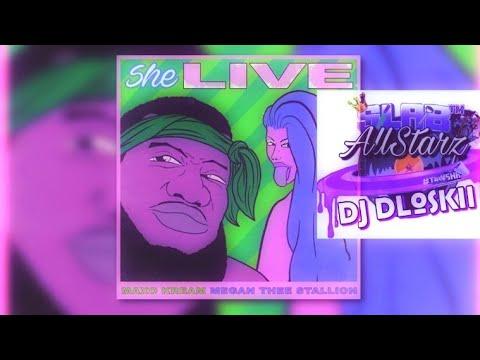 Maxo Cream - She Live Ft Megan Thee Stallion Screwed & Chopped DJ DLoskii