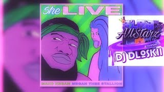 Maxo Cream   She Live Ft Megan Thee Stallion Screwed & Chopped DJ DLoskii