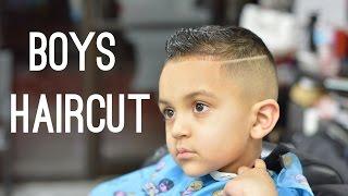 Little Boys Haircut | Fading And Haircut Techniques On Kids Hair!