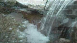 $500 Backyard Pond & Waterfall (Winter Version) - WEEKEND LANDSCAPING IDEA