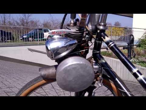Fahrrad Maiko mit Hilfsmotor Gnom und 3 Gangschaltung Modell 55  Teil 1