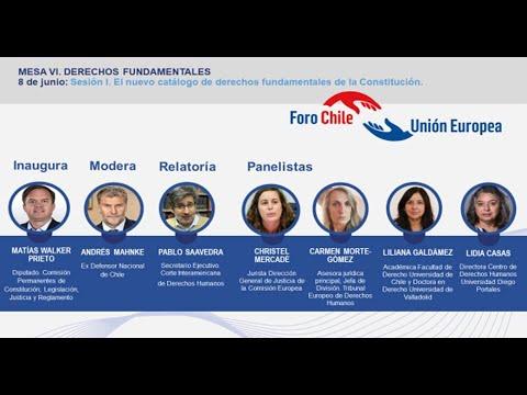 Diálogos Chile-UE. Mesa VI: Derechos Fundamentales - 8 de junio 2021