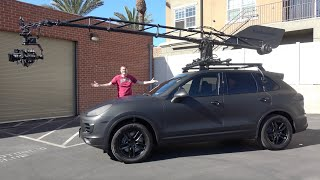 This Porsche Cayenne Is a $500,000 Custom Movie Filming Car