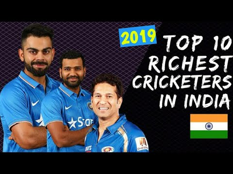 Top 10 richest Cricketer in India 2019 || Top 10 Richest cricket players