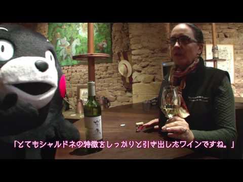 熊本産ワインと共に!くまモンのフランス・ワイン紀行