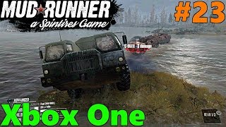 SpinTires Mud Runner: Xbox One Let's Play! Part 23 | 8x8 To The RESCUE!