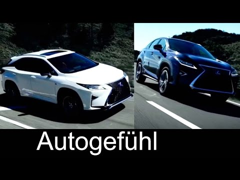 All-new Lexus RX 4thgen 2016 exterior first driving shots - Autogefühl