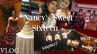 NANCY'S SWEET SIXTEEN + Can I have this dance waltz