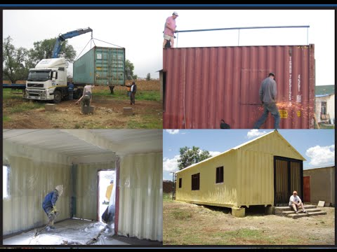 Build A Container Home Step By Step