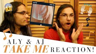 ALY & AJ   TAKE ME I OUR REACTION!  TWIN WORLD