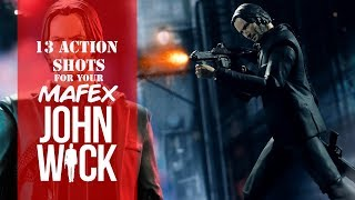13 Wicked Action Poses For Your Mafex John Wick Figure