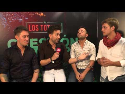 Los Totora video Cuestión de Tiempo - Entrevista CM