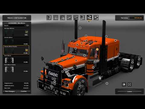 Download [ETS2 Mod] Peterbilt Custom 379 v2.8 (Test on 1.30) HD Mp4 3GP Video and MP3