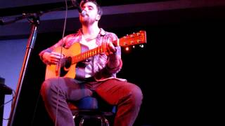 "Anthony Green ""Blood Song"" and ""How It Goes"" Live Acoustic"