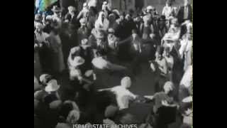 """מירון לג בעומר בשנת תרצ""""ה לפני 80 שנה בערך"""