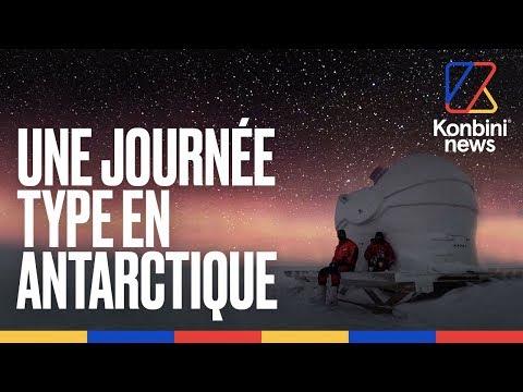 Il a passé 9 mois dans une base scientifique en Antarctique | Konbini News