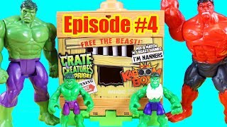 Hulk Episode 4 ! Hulk Plays Hide And Seek And Find Grandpa Hulk ! Superhero Toys