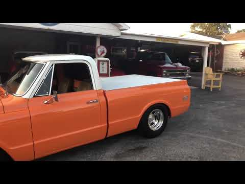 Video of Classic 1972 Chevrolet 1/2-Ton Pickup located in Wilson Oklahoma Offered by Red Line Auto Sports - QAO1