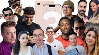 Google Pixel 3 and Pixel 3 XL: YouTubers React!