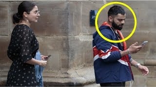 Virat Kohli SAD As He Steps Out With Anushka Sharma FIRST Time After EXIT From World Cup 2019