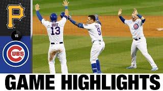 Javier Báez, Kyle Schwarber lead Cubs to walk-off win | Pirates-Cubs Game Highlights 8/2/20