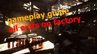 escape from tarkov factory exit points - मुफ्त
