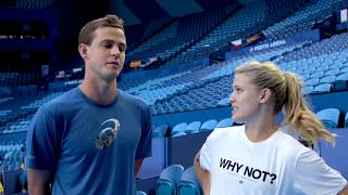 Team Canada: How well do you know each other? | Mastercard Hopman Cup 2018